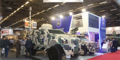 ACE6 Exhibit in Milipol Paris