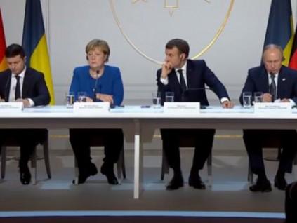 终于见面了:俄乌领导人首次会谈 普京会后这样说