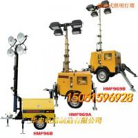 华宏生产和销售气动伸缩杆 移动式照明车灯月球灯