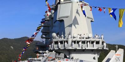 中国海军公开山东舰服役照片