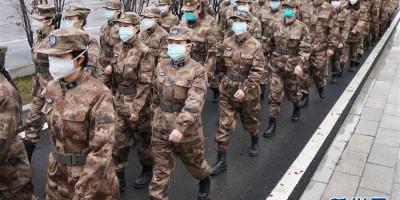 解放军援汉医疗队在武汉全面展开救治工作
