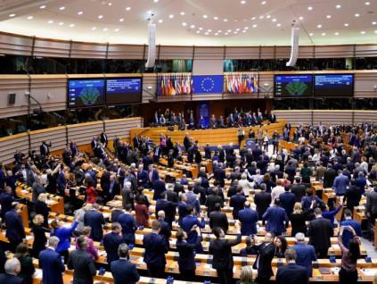 欧洲议会表决通过协议 英国今天正式脱欧