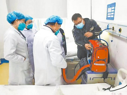 北京产制呼吸机 驰援意大利等海外疫情严重的国家