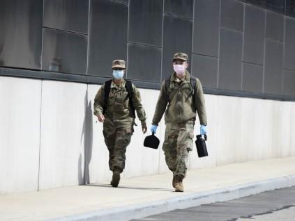 美军疫情扩散 危机重重 战备药品多从中国采购