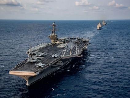 病毒攻占美航母爆争议:彻底疏散或继续备战?