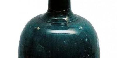唐蓝釉净瓶