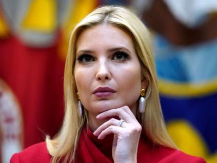 新冠当前 特朗普讚女儿伊万卡救了千万美国人