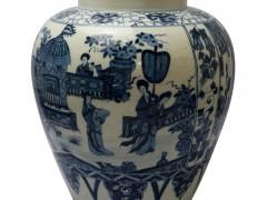 中国瓷器:青花人物故事大罐