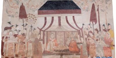 不开放的北齐墓葬壁画乘「云」露真容