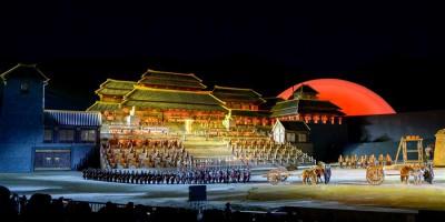 大型实景神话音乐剧《昆仑之约》在乌鲁木齐上演
