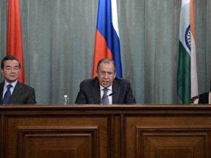 外长视频会议:俄外长称中印不需他国协助解决边境局势