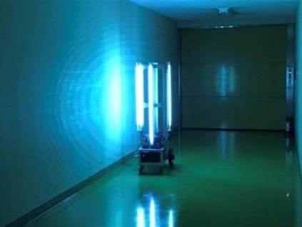 日本开发出消灭室内新冠状病毒的机器人