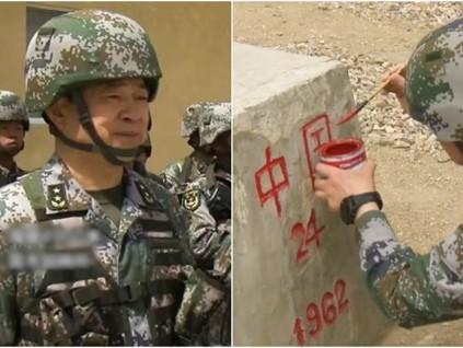 氣死印度!衛星圖像顯示中國在爭議邊境大秀地圖和這兩字
