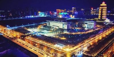 陕西省最北部-大美榆林夜景