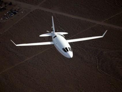 奥托航空:子弹型飞机快又省油 航空技术大突破