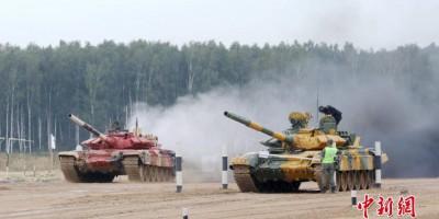 2020年莫斯科国际军事比赛 - 组图