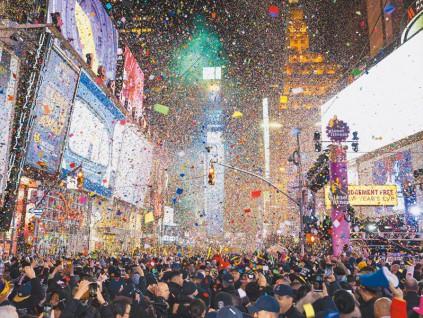 纽约时报广场 2021跨年虚拟化 巴西嘉年华会延期
