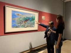 用水墨描绘深圳的成长 宋玉明城市山水画开展