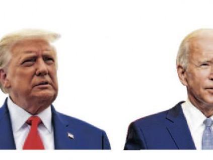 总统候选人首场电视辩论 特朗普拜登互相攻击场面失控