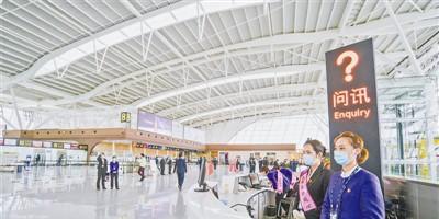 榆林榆阳机场新建T2航站楼正式投运