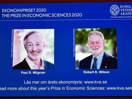 美国大学两教授凭拍卖理论 获颁诺贝尔经济学奖