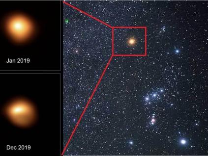 科学家重测红巨星参宿四 至少再发光10万年不爆炸
