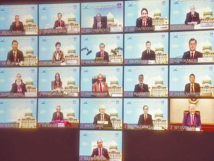 亚太经合组织领袖宣言 承诺团结抗疫提升经济整合