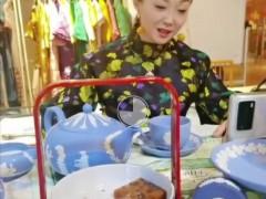 崔文僮首场旗袍直播秀