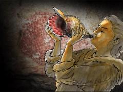 何不听听神奇海螺 1.8万年前的最古老乐器