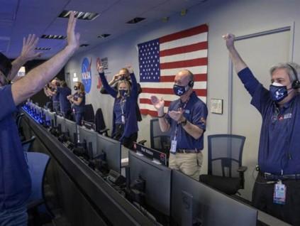 度过惊险11分半钟 美国毅力号探测器 成功登陆火星