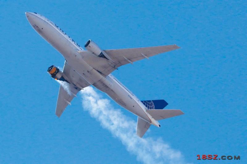 波音777引擎爆炸