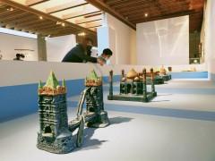 陶博馆双年展看遍世界 中日陶艺家捏出名胜古迹