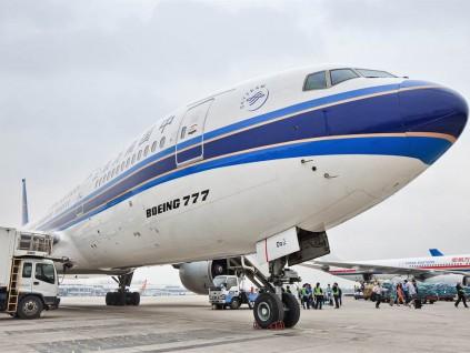 波音777又传发动机问题 俄国货机迫降莫斯科