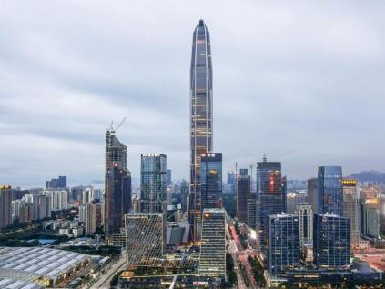 深圳已建成的200米以上建筑数量全球第一 约110座