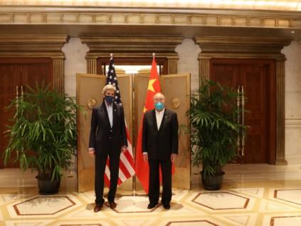 中美联合声明:期待领导人峰会 共同应对气候危机