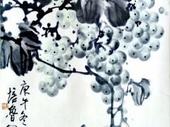 崔文僮讲解展厅精品国画