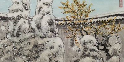 扬州个园四季-西乐群作品