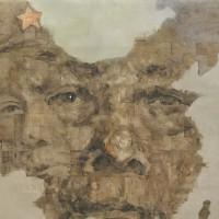 冷眼向洋看世界-开国领袖毛泽东油画