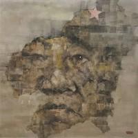 长征出发地的碎忆.赣南-红军之父朱德油画