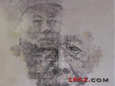 长征者-老红军潘开文油画