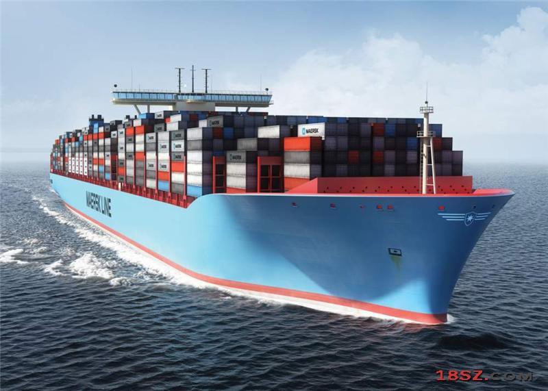 海运到美国一个集装箱