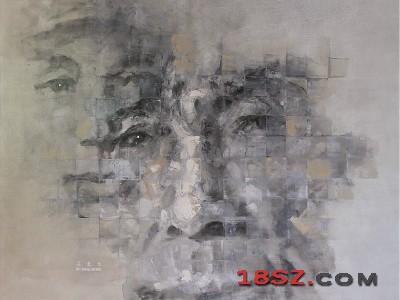长征者-老红军吴东生油画