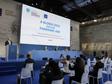 G20通过打击企业避税 警告变异病毒带来复苏风险