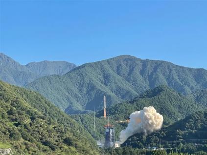 西昌卫星发射中心成功发射遥感30号第10组卫星