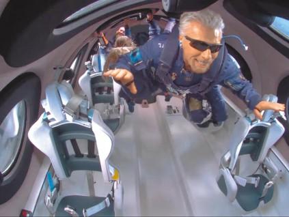 美国联邦航空总署 太空人定义变严 大泼富豪冷水