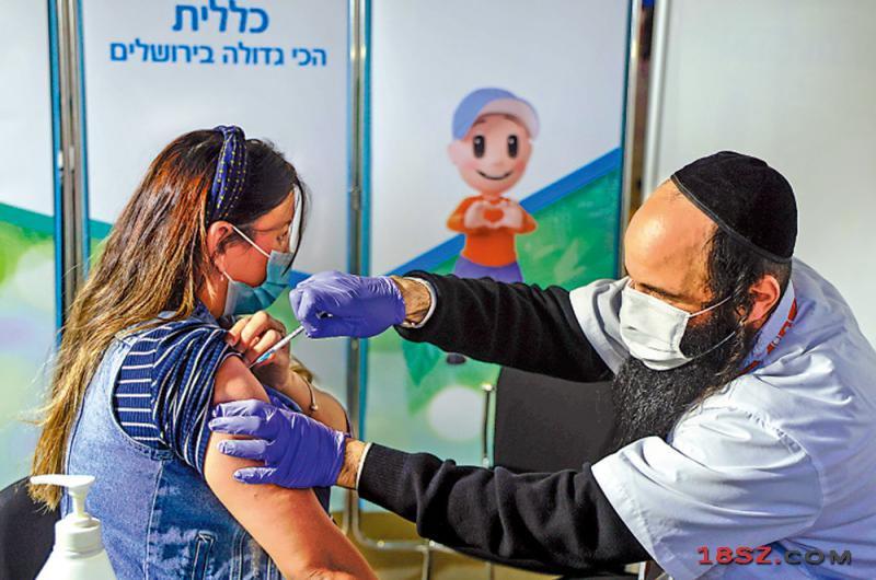 以色列研究: 接种第三剂辉瑞疫苗