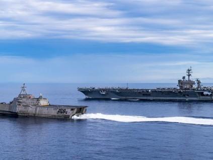 大型核航母是硬道理 在美战略中无可取代
