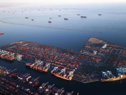 新冠疫情难阻美国人消费 两港口出现历来最多货轮