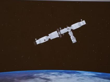 神舟十三号与空间站完成交会对接 过程历时约6.5小时