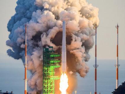 未能将模型卫星送入预定轨道 韩国世界号运载火箭试射失败